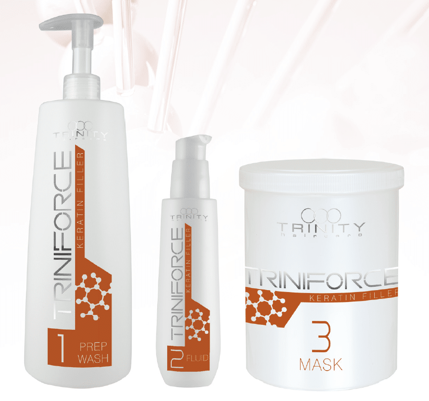 Triniforce Keratin Filler ist Teil des innovativen