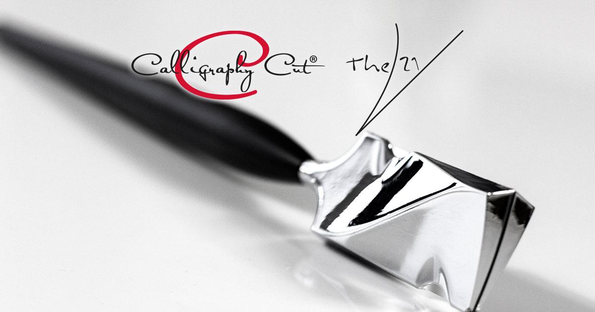 Darstellung Calligraphy Messer